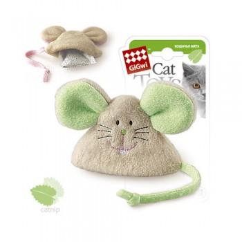 GiGwi 75041 Мышка с кош.мятой/ткань
