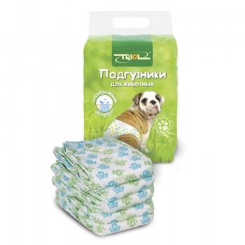 Triol / Триол Подгузник для собак XXL, вес собаки от 30кг