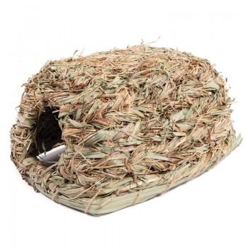"""Triol / Триол Домик NATURAL для мелких животных из луговых трав """"Шалашик"""", 270*180*140мм"""