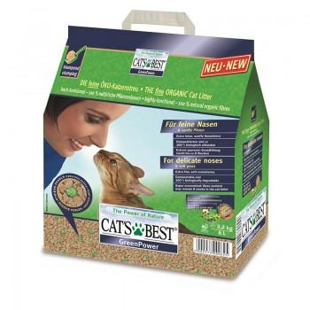 Наполнитель для кошачьих туалетов Cat's Best Sensitive 8л*2,9кг, древесный комкующийся