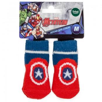Disney / Дисней Носки Marvel Капитан Америка, размер M