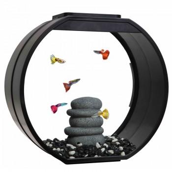 """АА-Aquarium Аквариум """"Deco O UPG"""", 20л, черный, 395*187*375мм"""