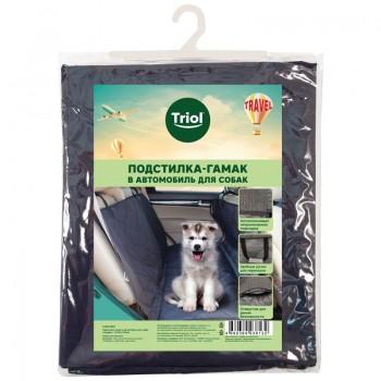 "Triol / Триол Подстилка-гамак в автомобиль для собак ""Профи"", 1470*1370мм"