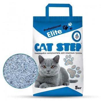 Cat Step / Кэт Степ Наполнитель комкующийся минеральный Professional Elite, 5 кг