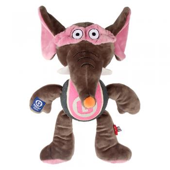 GiGwi / ГиГви Игрушка для собак Слон с пищалкой 28 см, серия AGENT GIGWI