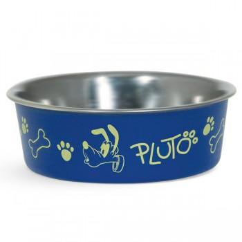 Disney / Дисней Миска металлическая на резинке Pluto, 0,45л