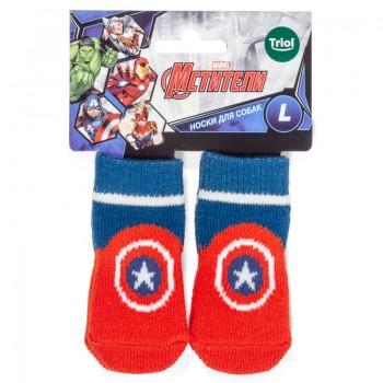 Disney / Дисней Носки Marvel Капитан Америка, размер L