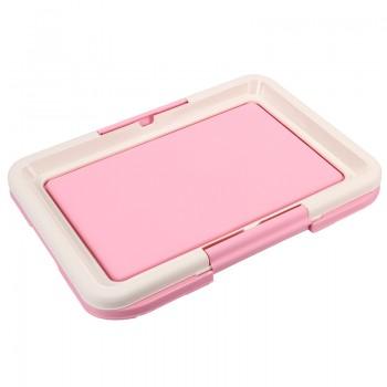 Triol / Триол Туалет P549 для собак, розовый, 480*420*40мм