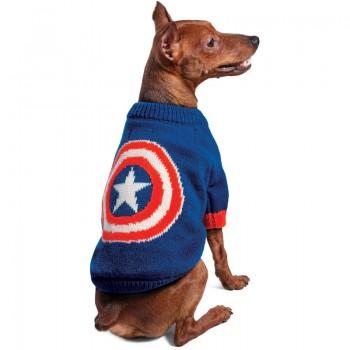 Disney / Дисней Свитер Marvel Капитан Америка S, размер 25см