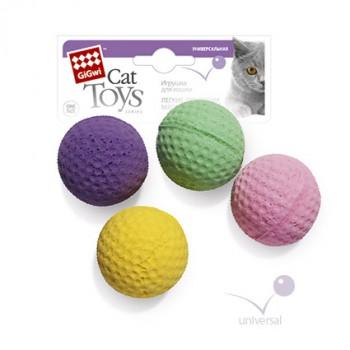 GiGwi 75294 Четыре мячика для кошки