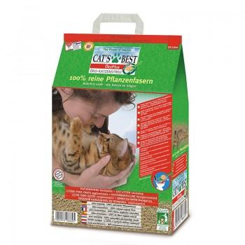 Наполнитель для кошачьих туалетов Cat's Best Original 20л*8,6кг, древесный комкующийся