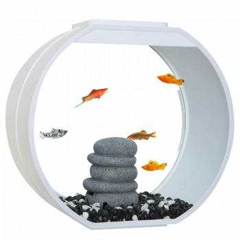 """АА-Aquarium Аквариум """"Deco O UPG"""", 20л, белый, 395*187*375мм"""
