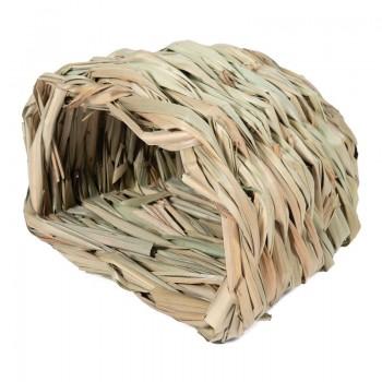 """Triol / Триол Домик NATURAL для мелких животных из луговых трав """"Норка малая"""", 150*110*100мм"""
