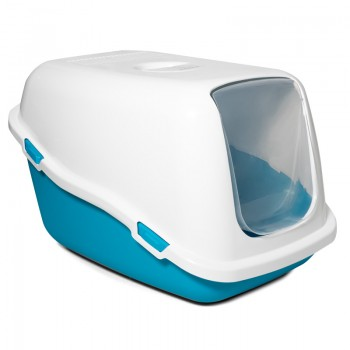 Triol / Триол Туалет P920 для кошек закрытый, синий, 570*390*350мм