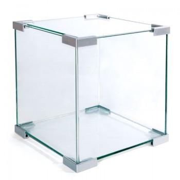 """Laguna / Лагуна Аквариум """"Crystal"""" 6002S, 18л, серебро, 250*250*300мм"""