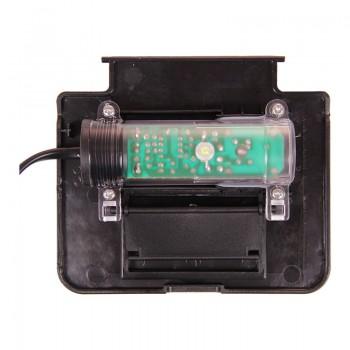 """АА-Aquarium Крышка-светильник аквариума """"Deco Max"""", черная, 2*3Вт, 199*210*36мм"""