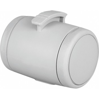 Flexi / Флекси Мультибокс для рулетки, ф 5 х 7 cм, 1 рулон х 20 пакетиков, светло-серый