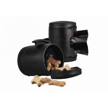 Flexi / Флекси Мультибокс для рулетки 7 х 5cм, 1 рулон х 20 пакетиков, чёрный