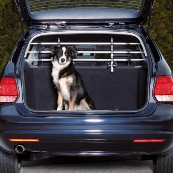 Trixie / Трикси Решётка для багажника, серебряный/чёрный (ширина: 96-163 см, высота: 34-48 см)