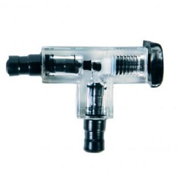 Trixie / Трикси Переходник 5 мм Т-образный с клапаном, прозрачный