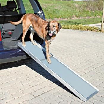 Trixie / Трикси Пандус для а/м багажника, 1 - 1,8 м х 43 см, для собаки весом до 120 кг