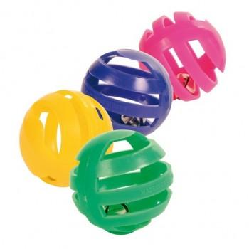 Trixie / Трикси Набор пластиковых игрушек для кошки, 4 шт.