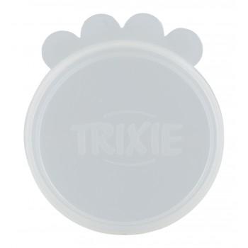 Trixie / Трикси Крышки для консервной банки, 7.6 см, силикон, набор из 2 шт.
