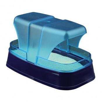 Trixie / Трикси Купалка для хомяков и мышей, 17х10х10 см, тёмно-синий/бирюзовый