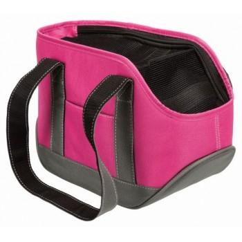 Trixie / Трикси Переноска Alea, S: 16 х 20 х 30 см, розовый/серый