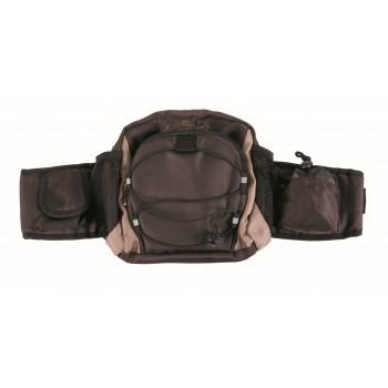 Trixie / Трикси Рюкзак на пояс Multi Belt', ремень: 57–138 см, коричневый/бежевый