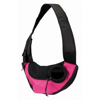 Trixie / Трикси Слинг-переноска Sling, 50 х 25 х 18 см, розовый/чёрный