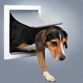 Trixie / Трикси Дверца для кошек/собак, 2 положения, 22,5х29,5 см, пластик, белый