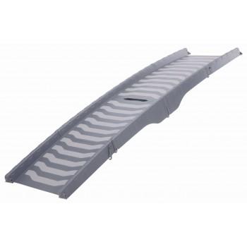 Trixie / Трикси Пандус складной, складывается в три раза, пластик, 39 х 150 см, серый