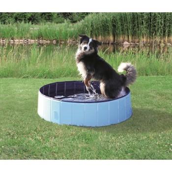 Trixie / Трикси Бассейн для собак, 120 х 30 см, голубой/синий