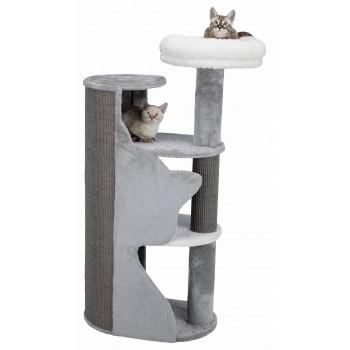 Trixie / Трикси Домик для кошки Adele, 120 см, серый/белый/серый