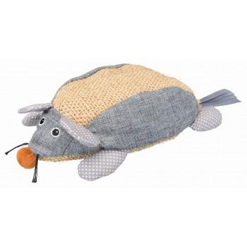 Trixie / Трикси Мышь 30 см, сизаль/ткань, натуральный/серый