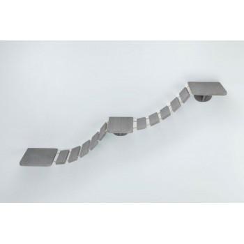 Trixie / Трикси Лестница для настенного монтажа для кошки, 150 х 30 см, серо-коричневый