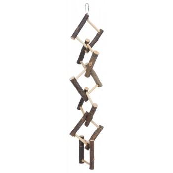 Trixie / Трикси Лестница для попугая деревянная, 12 ступенек, 50 см