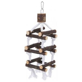 Trixie / Трикси Лестница для попугая деревянная, 51 см