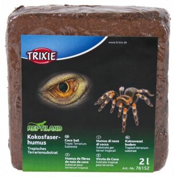 "Trixie / Трикси Кокосовый субстрат для террариумов тип ""Тропики"", брикет 9 л"