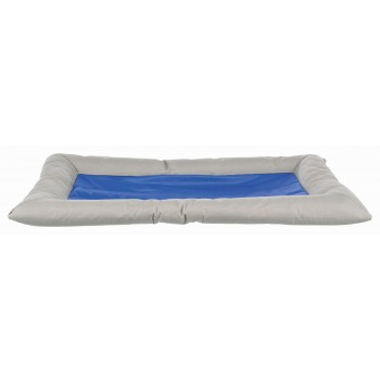 Trixie / Трикси Лежак охлаждающий Cool Dreamer, 90 х 55 см, серый/синий