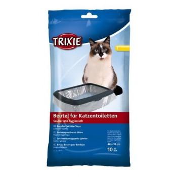 Trixie / Трикси Пакеты уборочные для кошачьих туалетов L 46 x 59 см, 10 ш