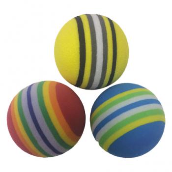 Выгодно Игрушка для животных - мячик (вспененный каучук) D-4,3 см ИГ-51 (3шт/уп)