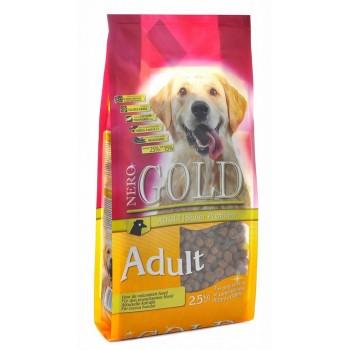 Nero Gold / Неро Голд для Взрослых собак: Курица и рис (Adult), 2.5 кг
