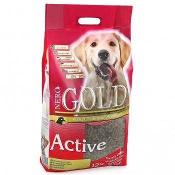 Nero Gold / Неро Голд для Активных собак: Курица и рис (Adult Active), 12 кг