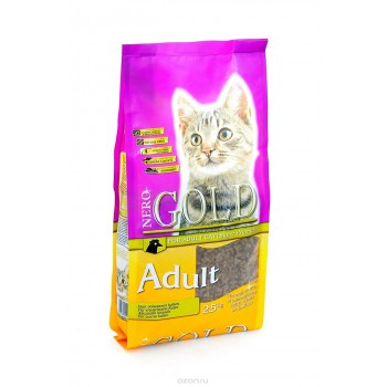 Nero Gold / Неро Голд для Кошек с Курицей (Cat Adult Chicken 32/18), 800 гр