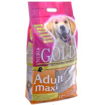 Nero Gold / Неро Голд для Взрослых собак Крупных пород (Adult Maxi 26/16), 18 кг