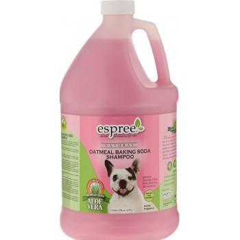 Espree / Эспри Шампунь «Овес и сода», для собак Oatmeal Baking Soda Shampoo, 3780 мл