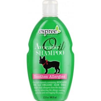 Espree / Эспри Шампунь для восстановления шерсти и кожи с маслом авокадо, для собак. Avocado Oil Shampoo, 502 мл