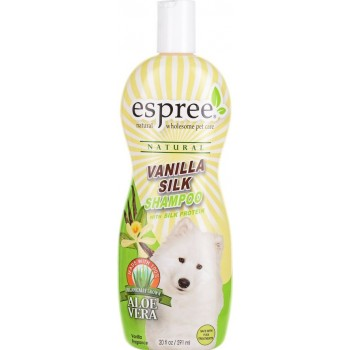 "Espree / Эспри Шампунь ""Ванильный шелк"", для собак Vanilla Silk Shampoo, 591 мл"